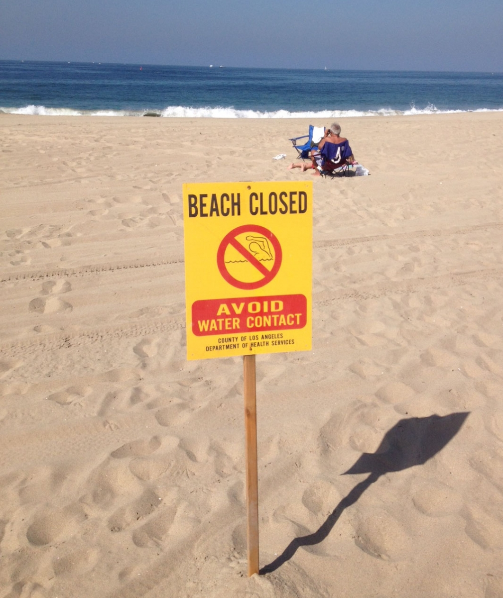 Dockweiller Beach Closure