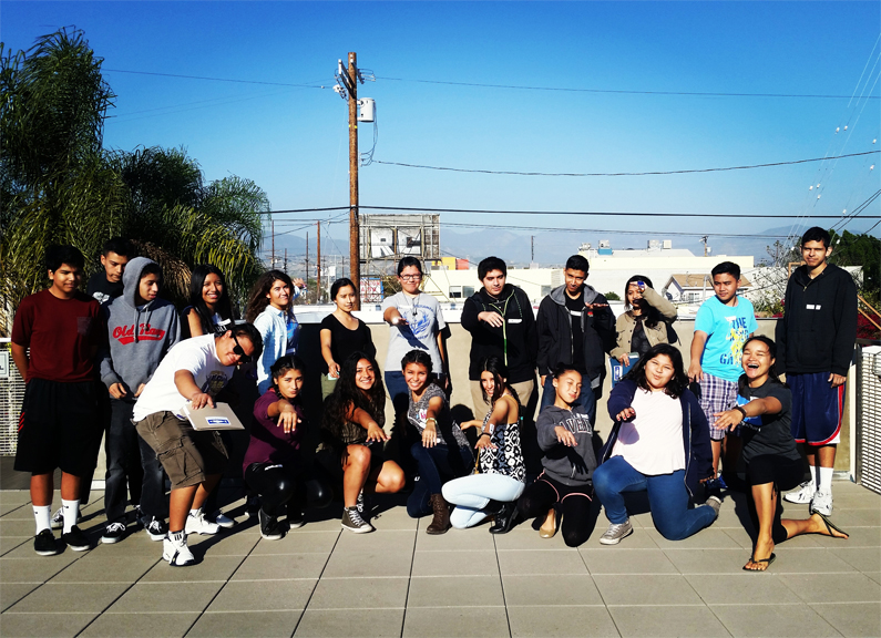 Blitz the Bay Youth Summit group