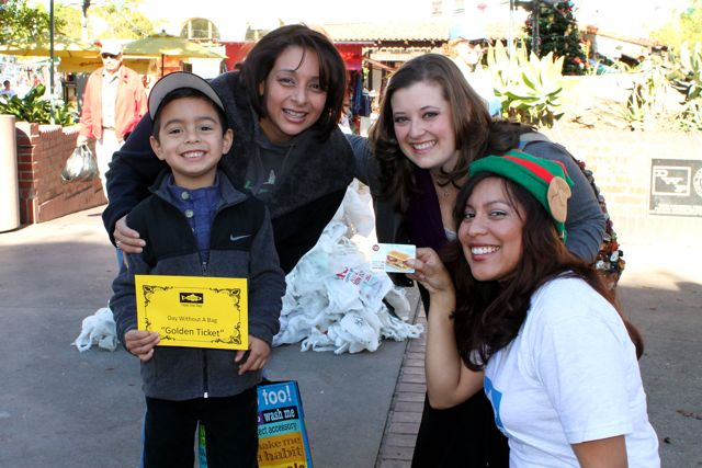 A Day Without A Bag 2012 Golden Ticket Winner at Olvera Street