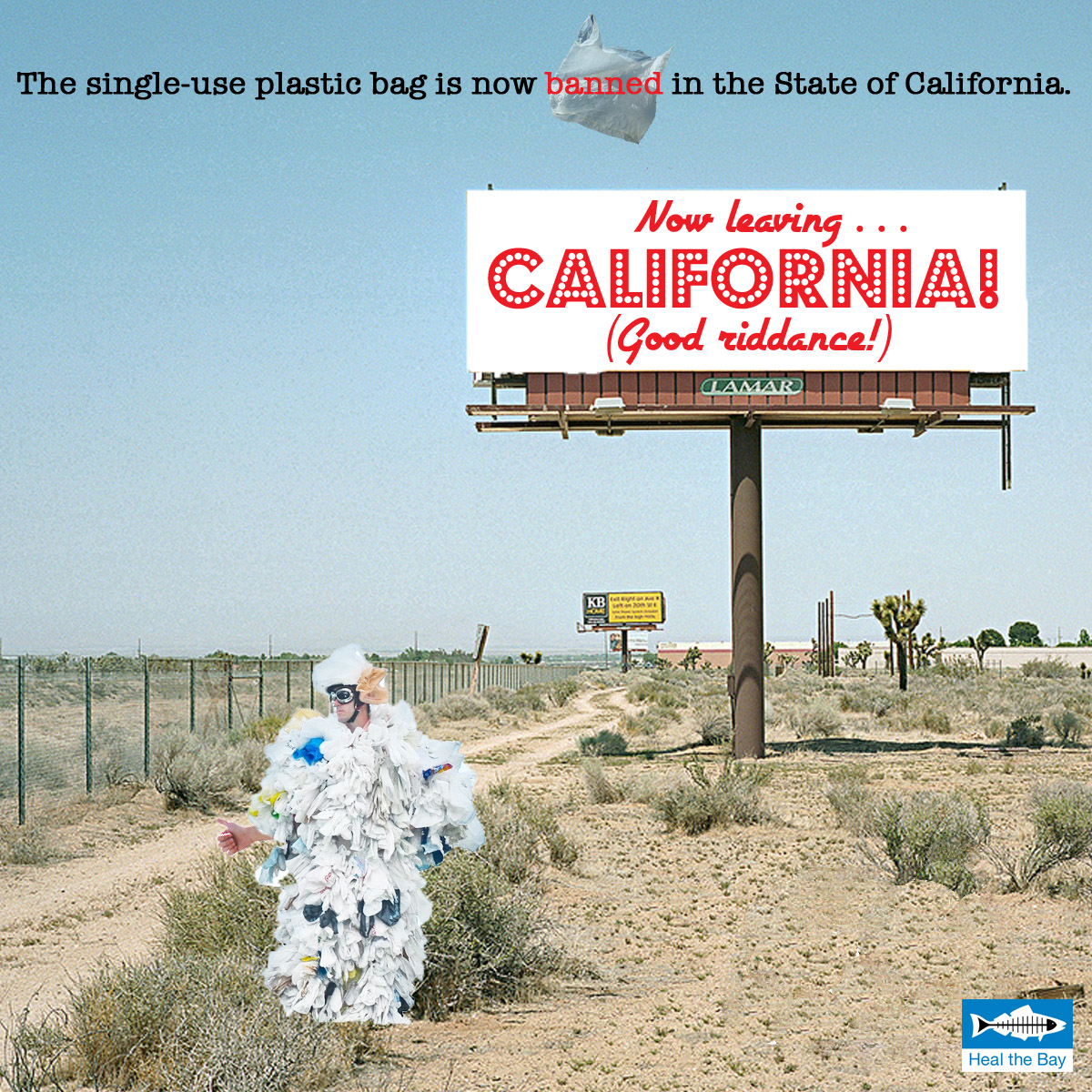 California bans the plastic bag