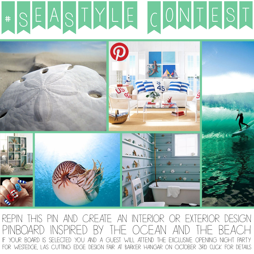 SeaStyle Pinterest Design Contest