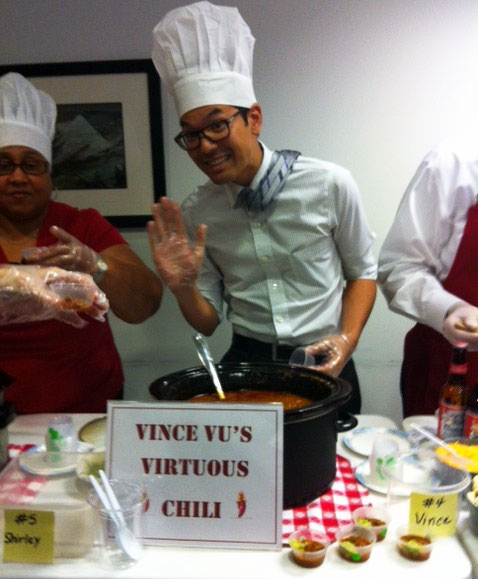 Wells Fargo participated in a fundraising Chili Cookoff!