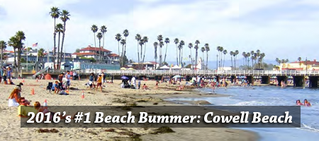 This year's number one Beach Bummer: Cowell Beach in Santa Cruz