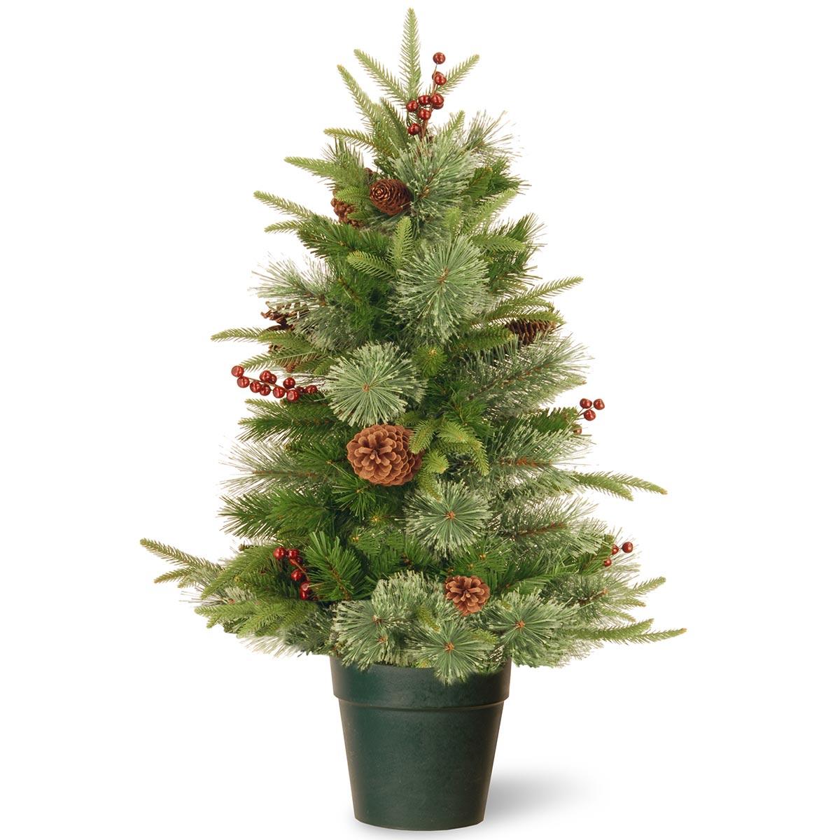7ft Fibre Optic Christmas Tree