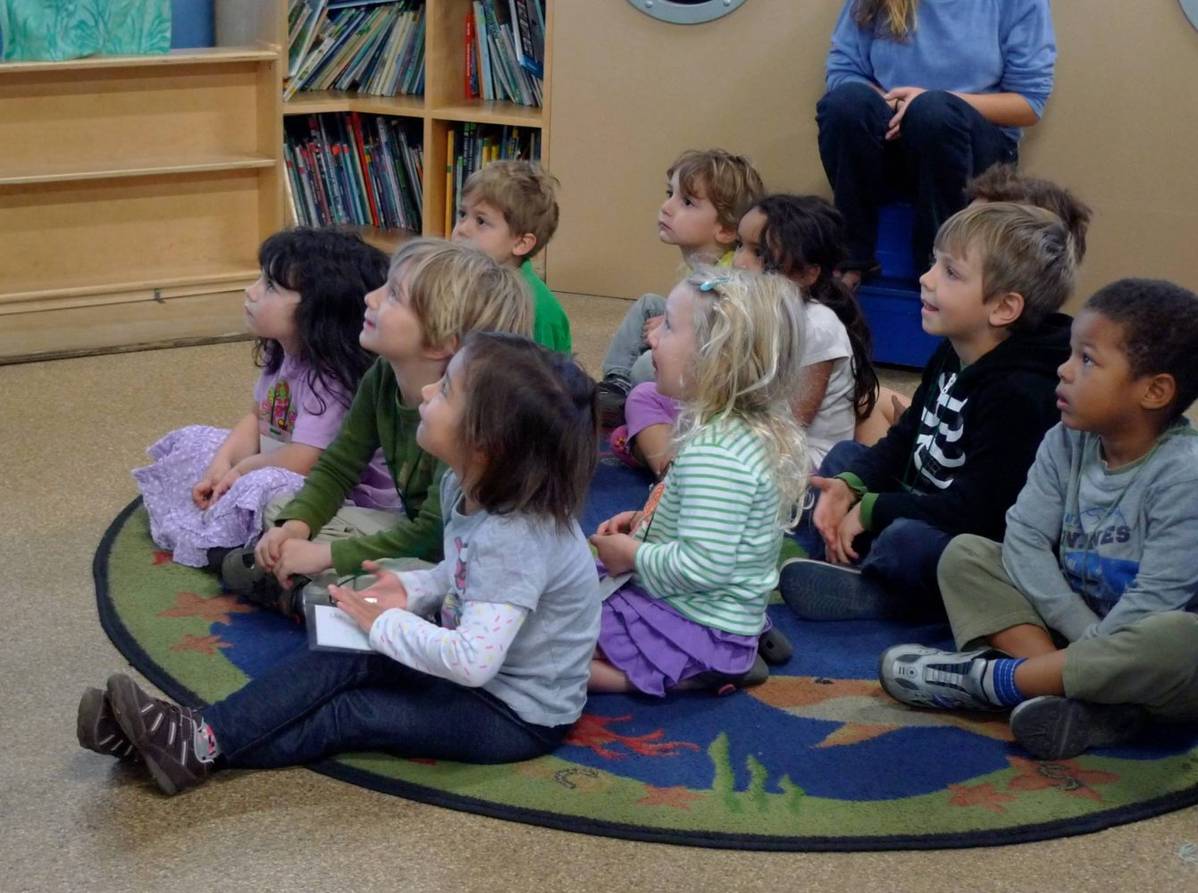 Kids love our ocean-themed stories, read by a staff member. Followed by a live animal presentation.