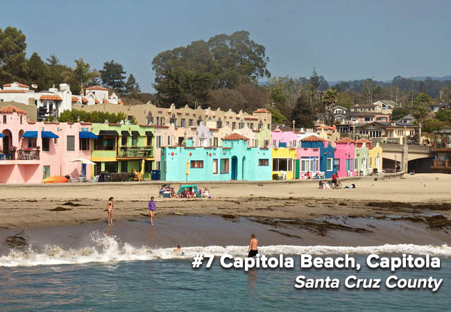 Capitola has jumped on and off the Beach Bummer list repeatedly over the history of the Beach Report Card, and has returned after a three-year hiatus. This beach sits at the mouth of Soquel Creek, south of the Capitola wharf. Beaches at the mouth of storm drains, creeks or rivers pose a public health threat to the beach-going public when flowing because of bacteria exposure, even during dry weather.