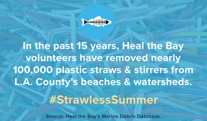 Heal the Bay Strawless Summer