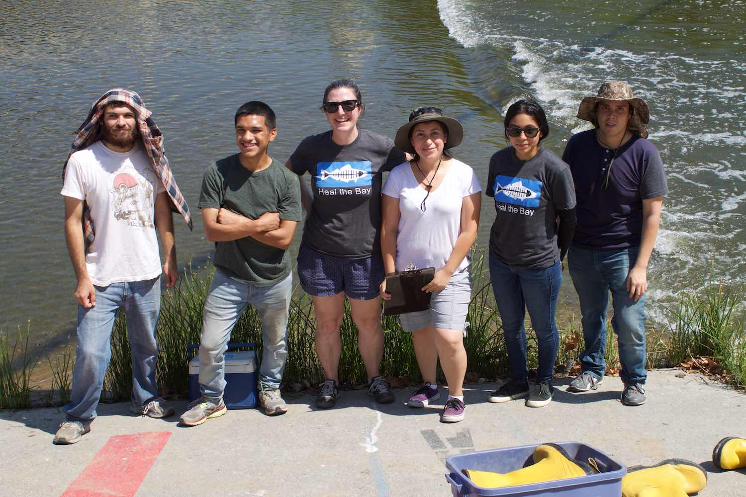 LA River Report Card - Heal the Bay - Water Quality Monitoring