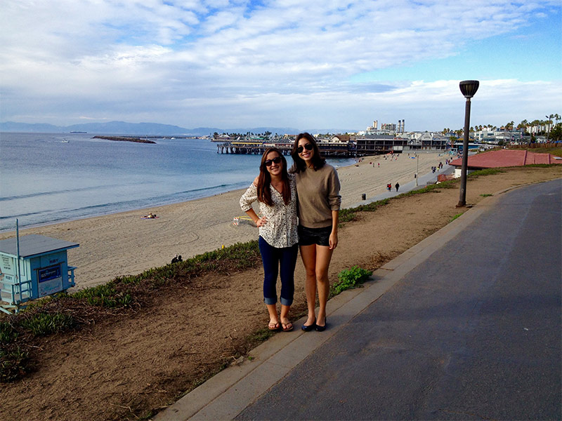 South bay archives heal the bay katherine teshima on the left and her friend near the redondo beach pier m4hsunfo