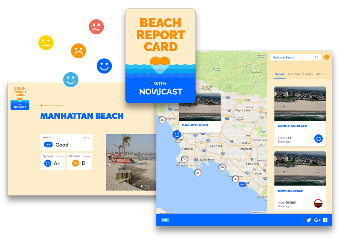 beach report card website