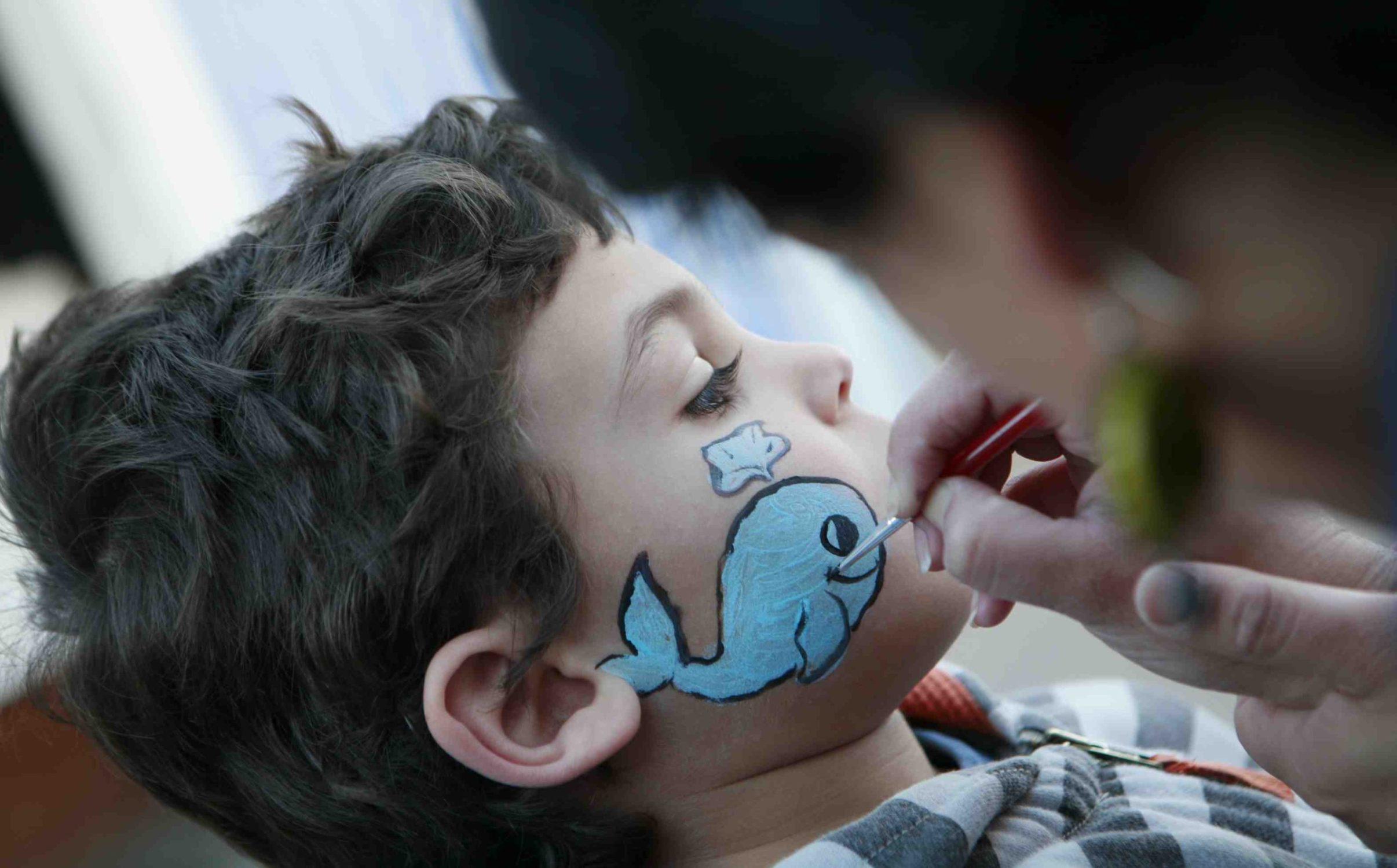 boy with whale facepaint_Lillie Grossman