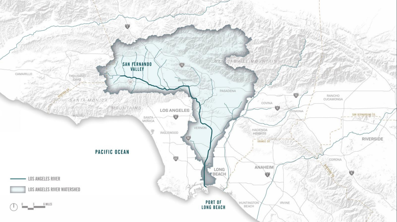 LA River Map - Flows Presentation 8