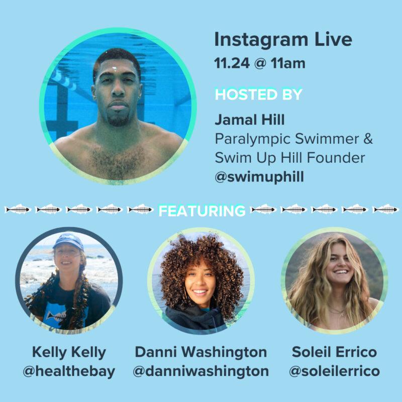 Instagram Live Swim Up Hill